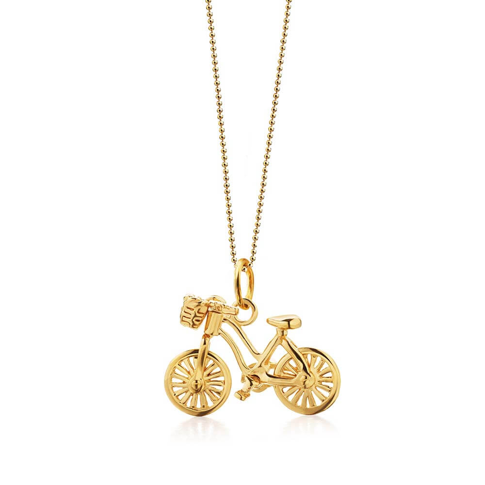 Gold Bike Charm - JET SET CANDY