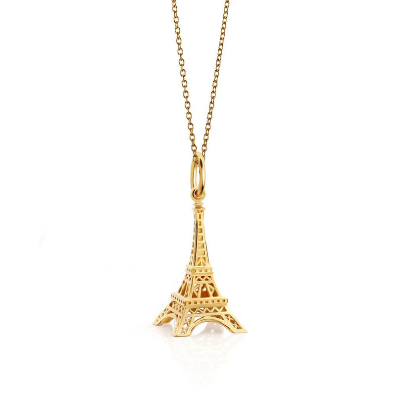 Gold Eiffel Tower Charm - JET SET CANDY