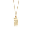 Solid Gold Mini Charm, SBH St. Barths Luggage Tag - JET SET CANDY