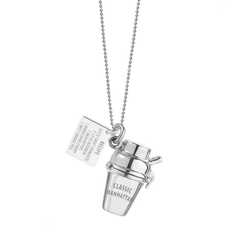 Silver New York Charm, Classic Manhattan Shaker - JET SET CANDY