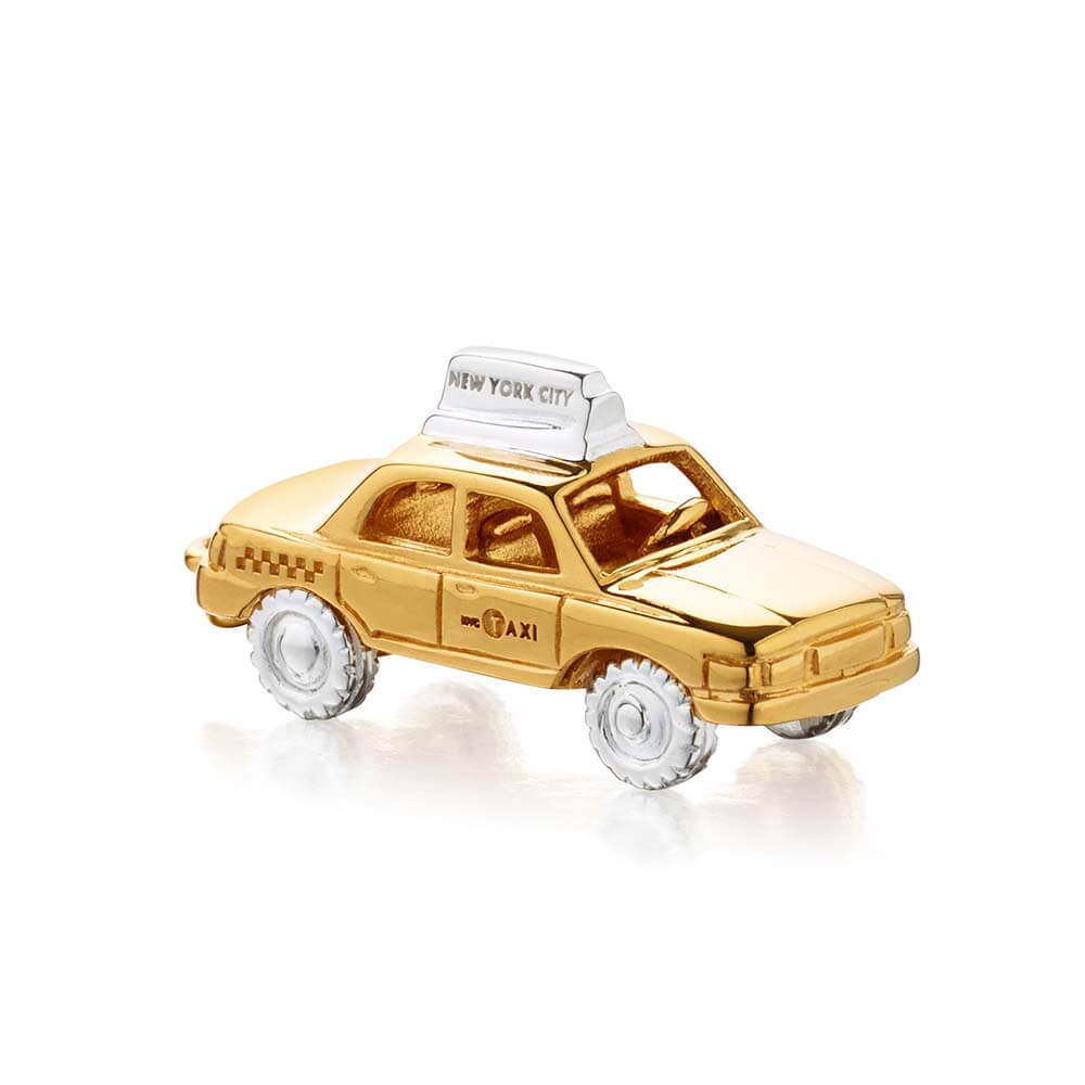Gold New York Taxi Charm - JET SET CANDY
