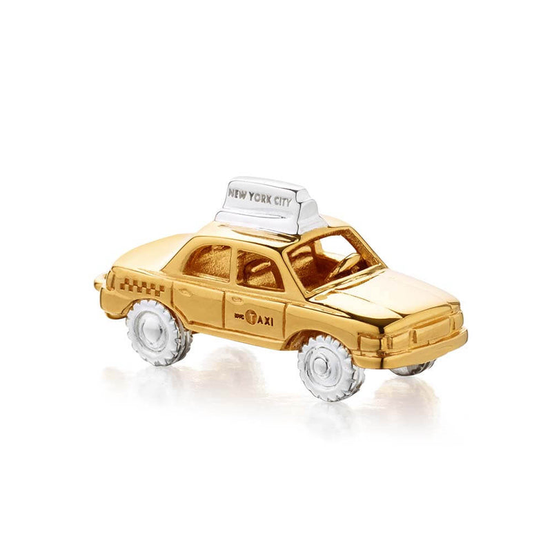 Two-tone New York Taxi Charm (BACK-ORDER-SHIPS APRIL) - JET SET CANDY