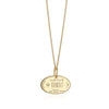 Solid Gold Kuwait Passport Stamp Charm - JET SET CANDY