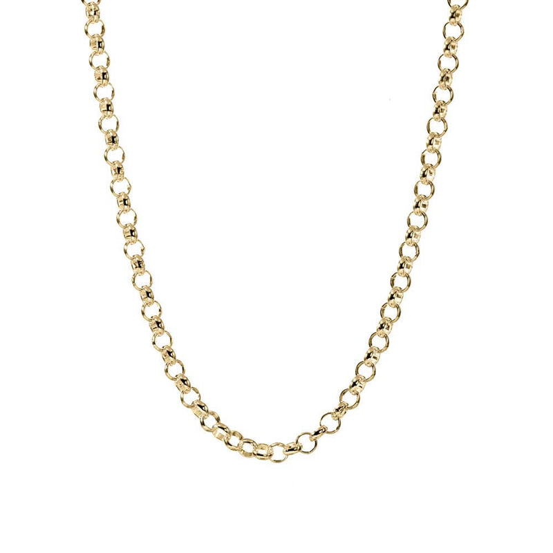 "Gold Rolo Chain, 30"" to 36"" - JET SET CANDY"