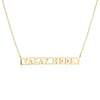 Gold Travel Necklace, Vacay Mode - JET SET CANDY