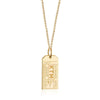 Gold Nepal Charm, KTM Kathmandu Luggage Tag - JET SET CANDY
