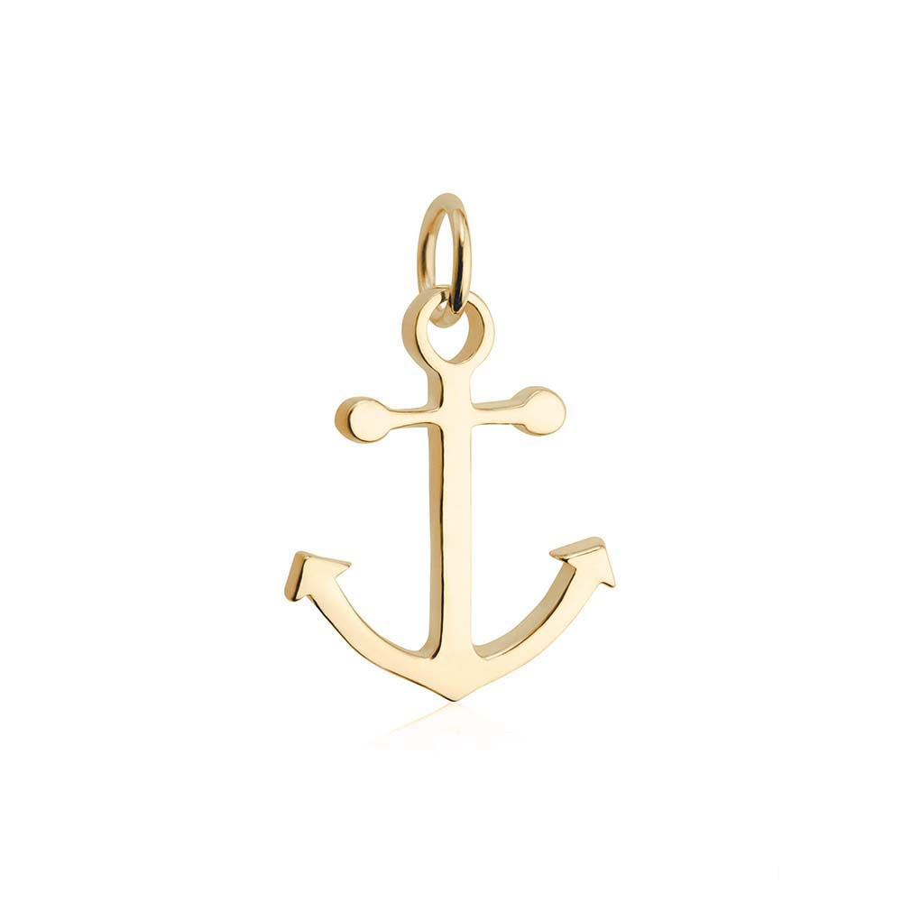 Gold Anchor Charm - JET SET CANDY