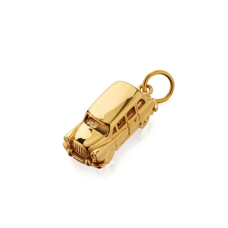 Gold London Taxi Charm - JET SET CANDY