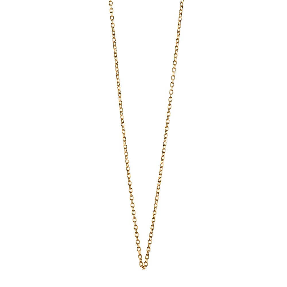 "Gold Cable Chains, 14"" to 30"" - JET SET CANDY"