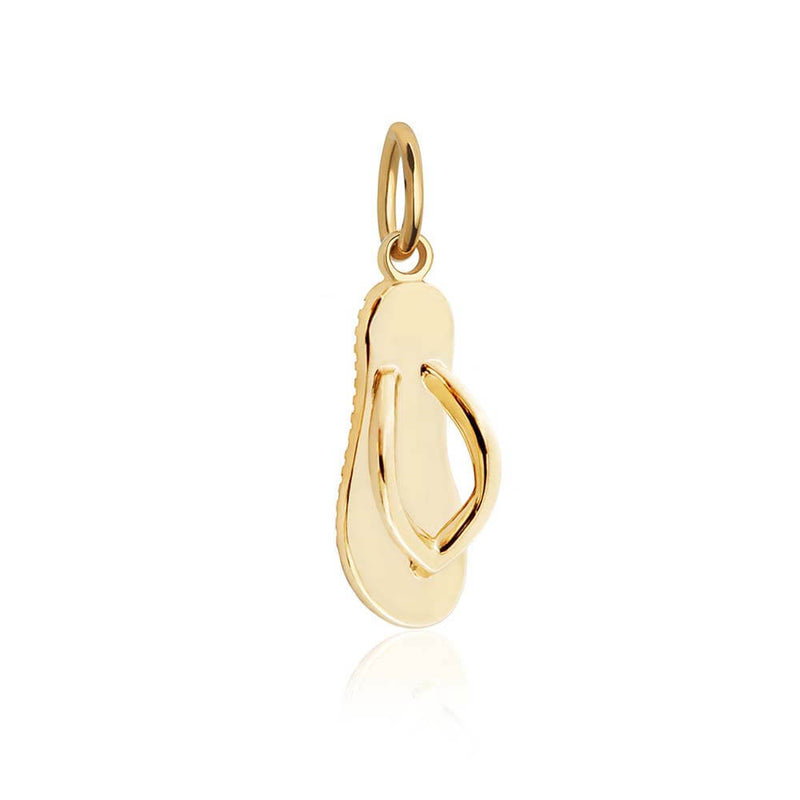 Gold Flip-Flop Charm (SHIPS JUNE) - JET SET CANDY