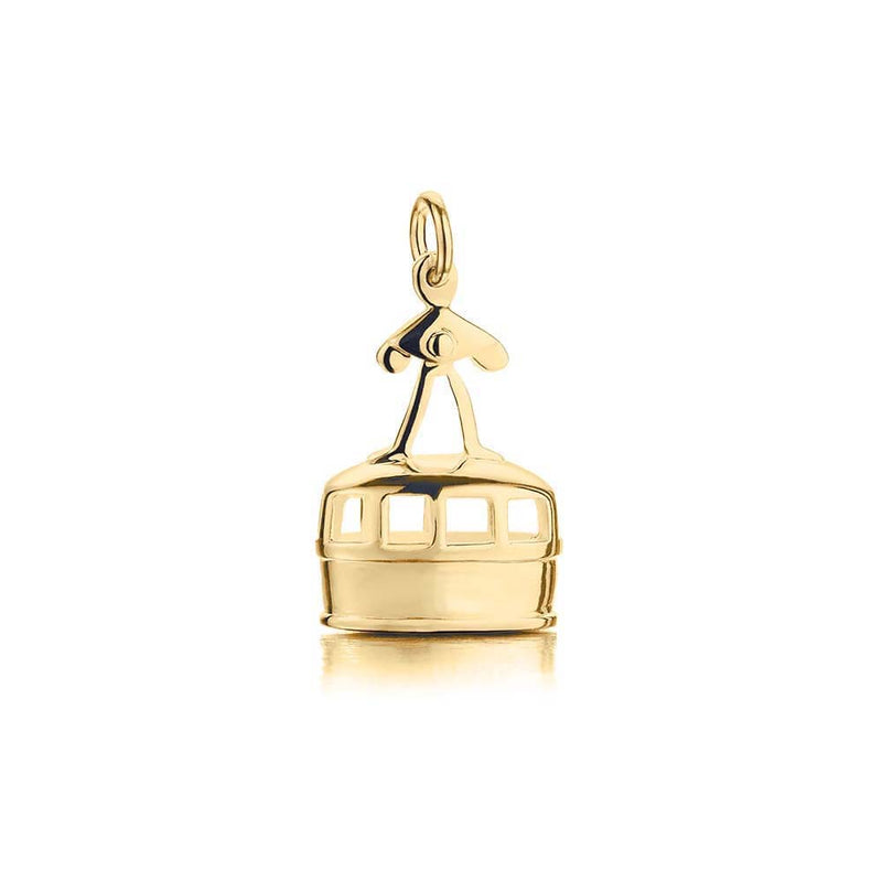 Gold Gondola Ski Charm (SHIPS JUNE) - JET SET CANDY