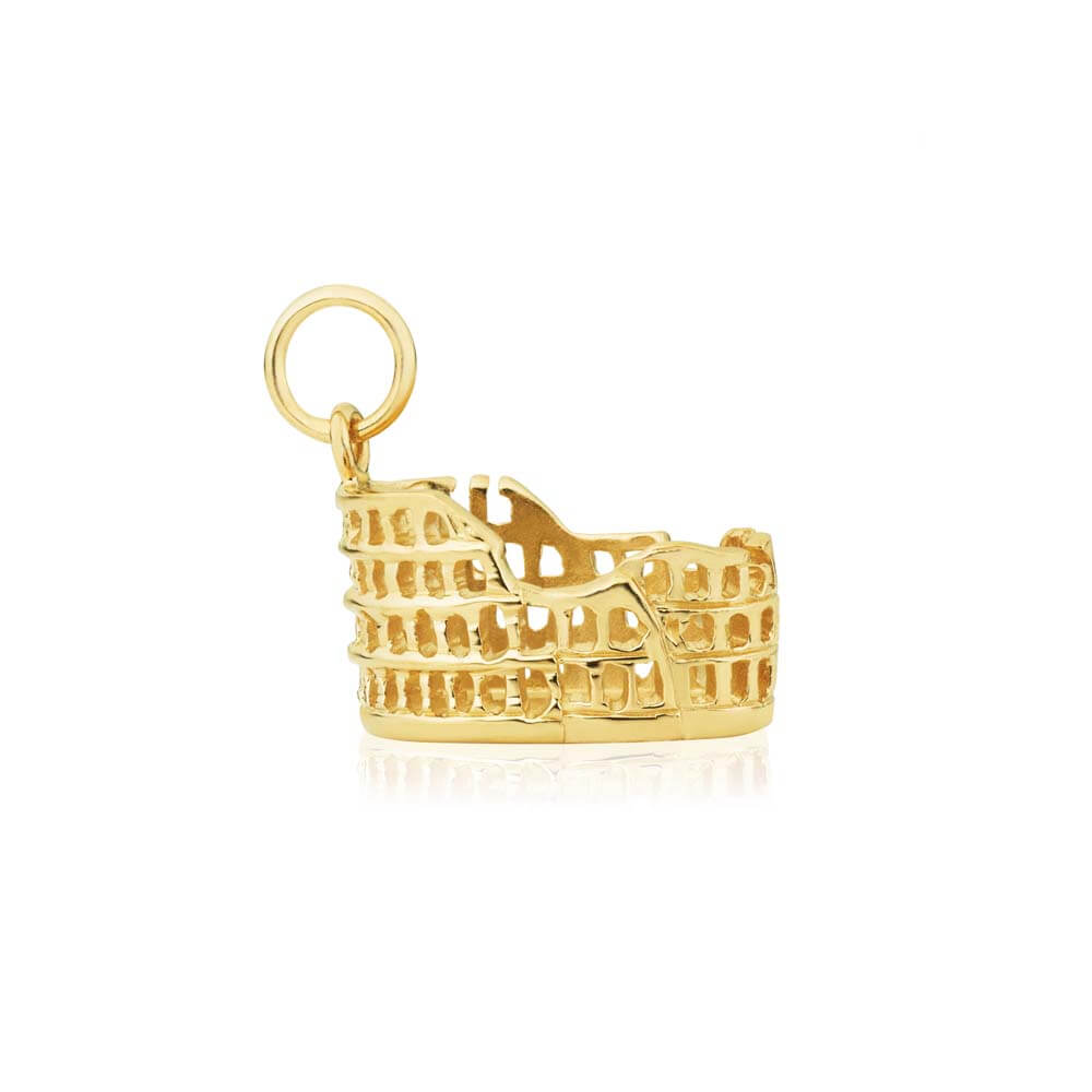 Gold Colosseum Charm (SHIPS JUNE) - JET SET CANDY