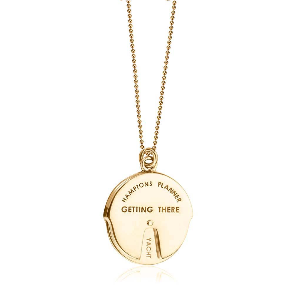 Gold Hamptons Spinner Charm - JET SET CANDY