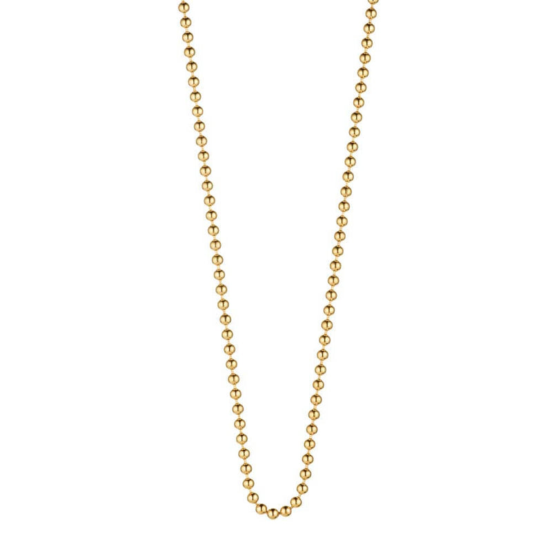 "Gold Ball Chains, 14"" to 30"" - JET SET CANDY"