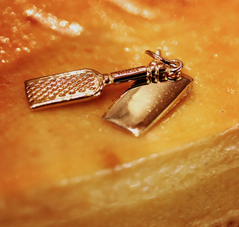 Gold Italy Charm, Parmesan Cheese & Grater - JET SET CANDY