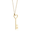 Gold I Love New York Key & Heart Charm - JET SET CANDY