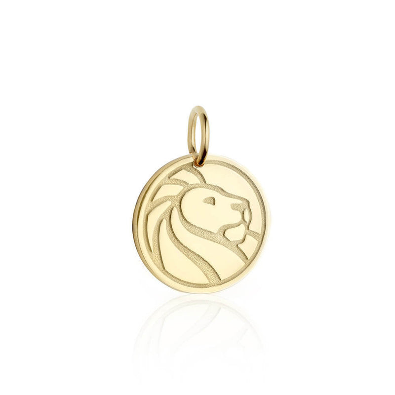 Gold New York Public Library Charm - JET SET CANDY