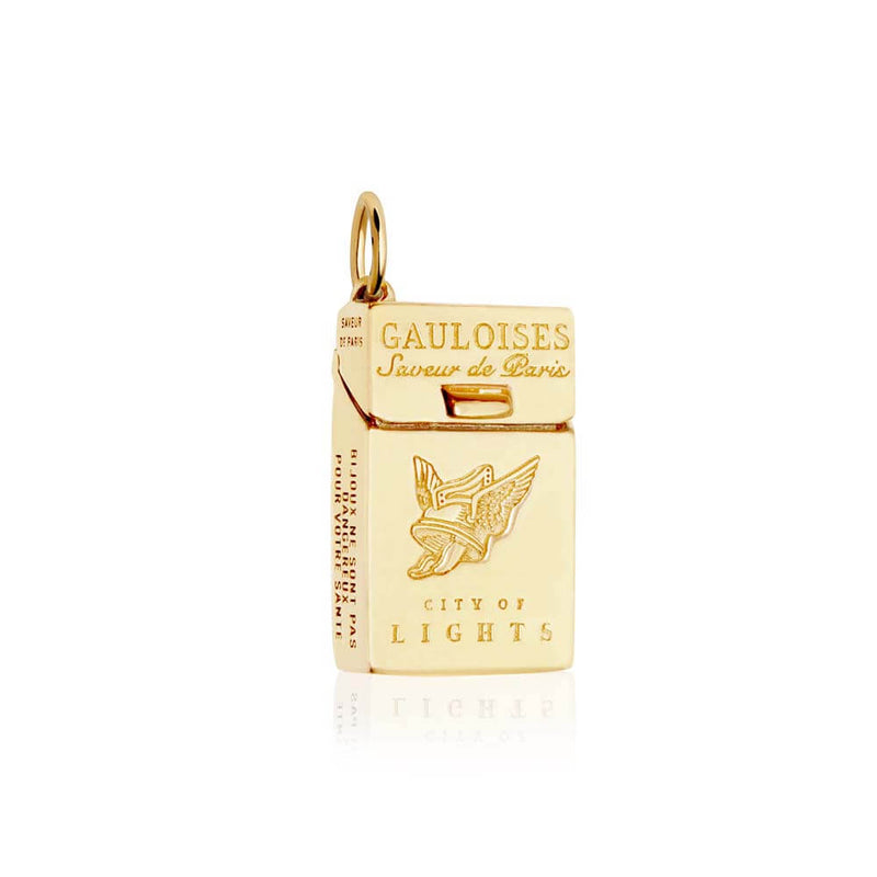 Gold French Charm, Gauloises French Cigarettes - JET SET CANDY