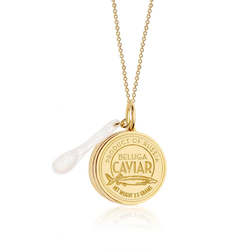 Gold Russian Caviar Charm - JET SET CANDY