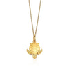 Small Solid Gold Sea Turtle Charm - JET SET CANDY