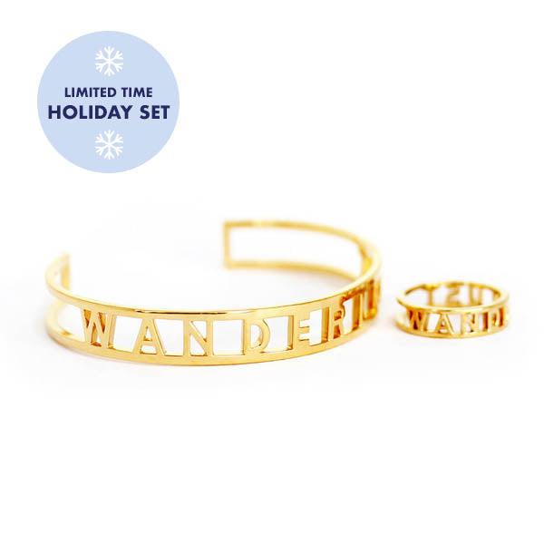 Sterling Silver Wanderlust Holiday Set