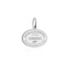 Sterling Silver Travel Charm, Honduras Passport Stamp - JET SET CANDY
