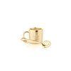 Gold Hot Chocolate Mug Charm - JET SET CANDY