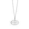 Sterling Silver Travel Charm, Kuwait Passport Stamp - JET SET CANDY