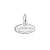 Sterling Silver Charm, Liechtenstein Passport Stamp - JET SET CANDY