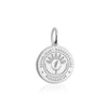 Sterling Silver Charm, Madagascar Passport Stamp - JET SET CANDY