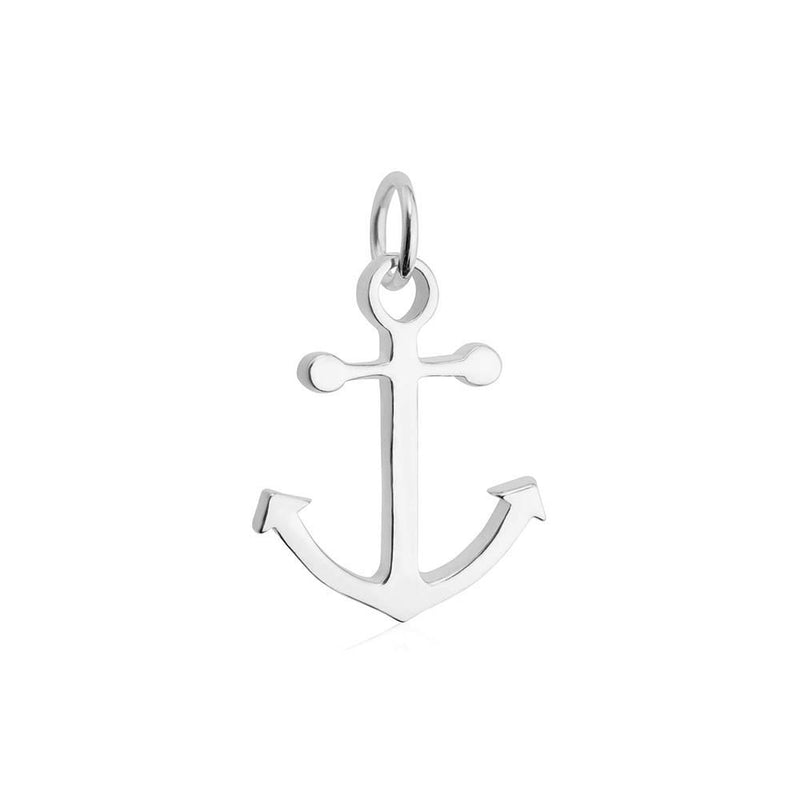 Sterling Silver Anchor Charm - JET SET CANDY