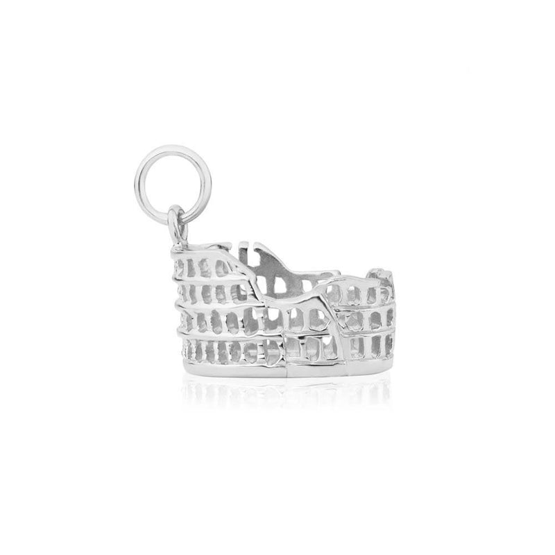 Silver Colosseum Charm - JET SET CANDY