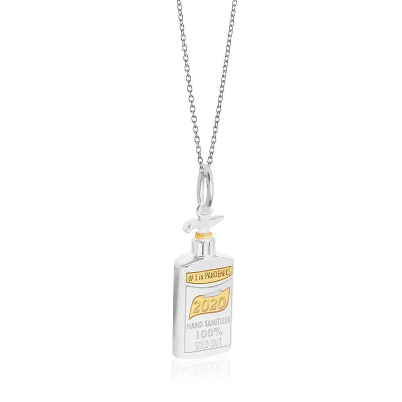 PRE-ORDER: Silver Hand Sanitizer Charm (SHIPS EARLY DECEMBER)