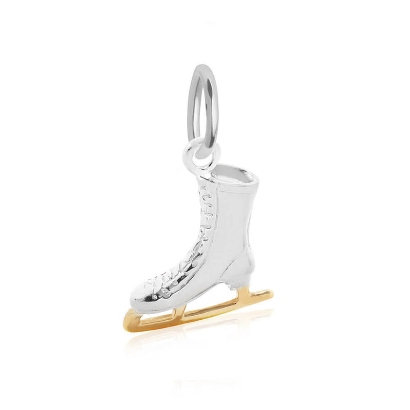 PRE-ORDER: Sterling Silver Ice Skate Charm (SHIPS MID DECEMBER)