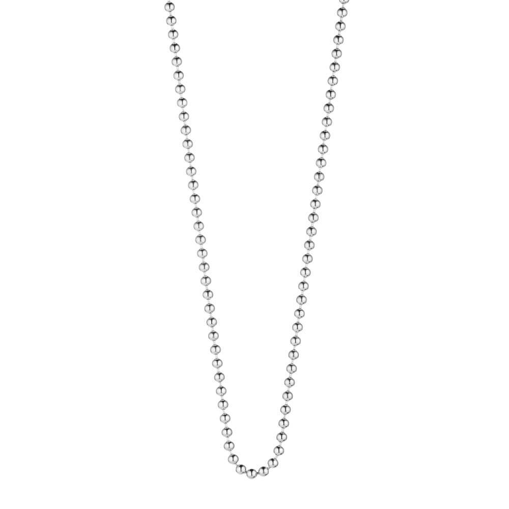 "Sterling Silver Ball Chains, 14"" to 30"" - JET SET CANDY"