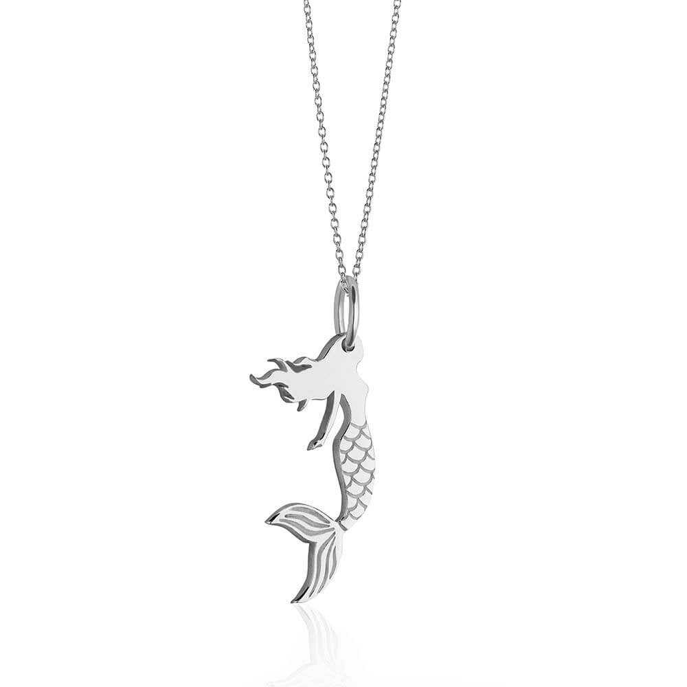 Sterling Silver Mermaid Charm - JET SET CANDY