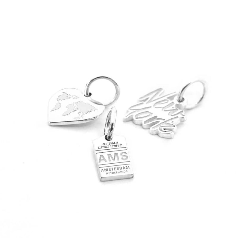 SILVER MINI BUNDLE WITH 3 CHARMS