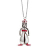 Silver India Charm, Indian Rajasthan Puppet - JET SET CANDY