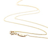 "16"" SOLID GOLD MINI CHARM NECKLACE WITH 2 CHARMS - JET SET CANDY"