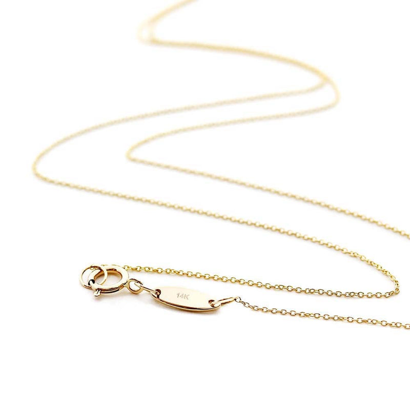 "16"" SOLID GOLD MINI CHARM NECKLACE WITH 2 CHARMS (BACK-ORDER-SHIPS APRIL) - JET SET CANDY"