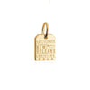 Solid Gold Mini Charm, MSY New Orleans Luggage Tag (SHIPS JUNE) - JET SET CANDY