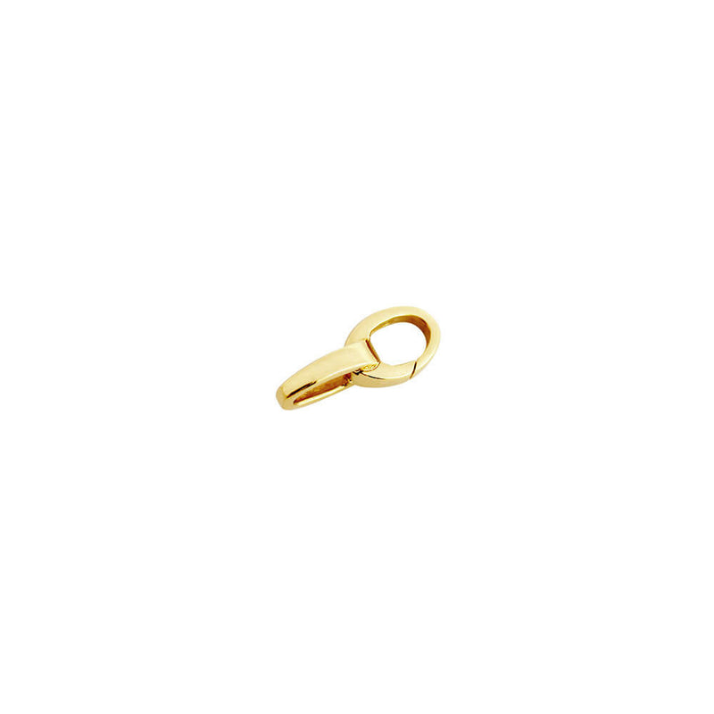 Extra Solid Gold Slim Infinity Link