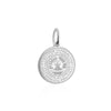 Sterling Silver Charm, Tajikistan Passport Stamp - JET SET CANDY
