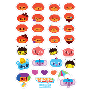 Memo Me Sticker Sheet