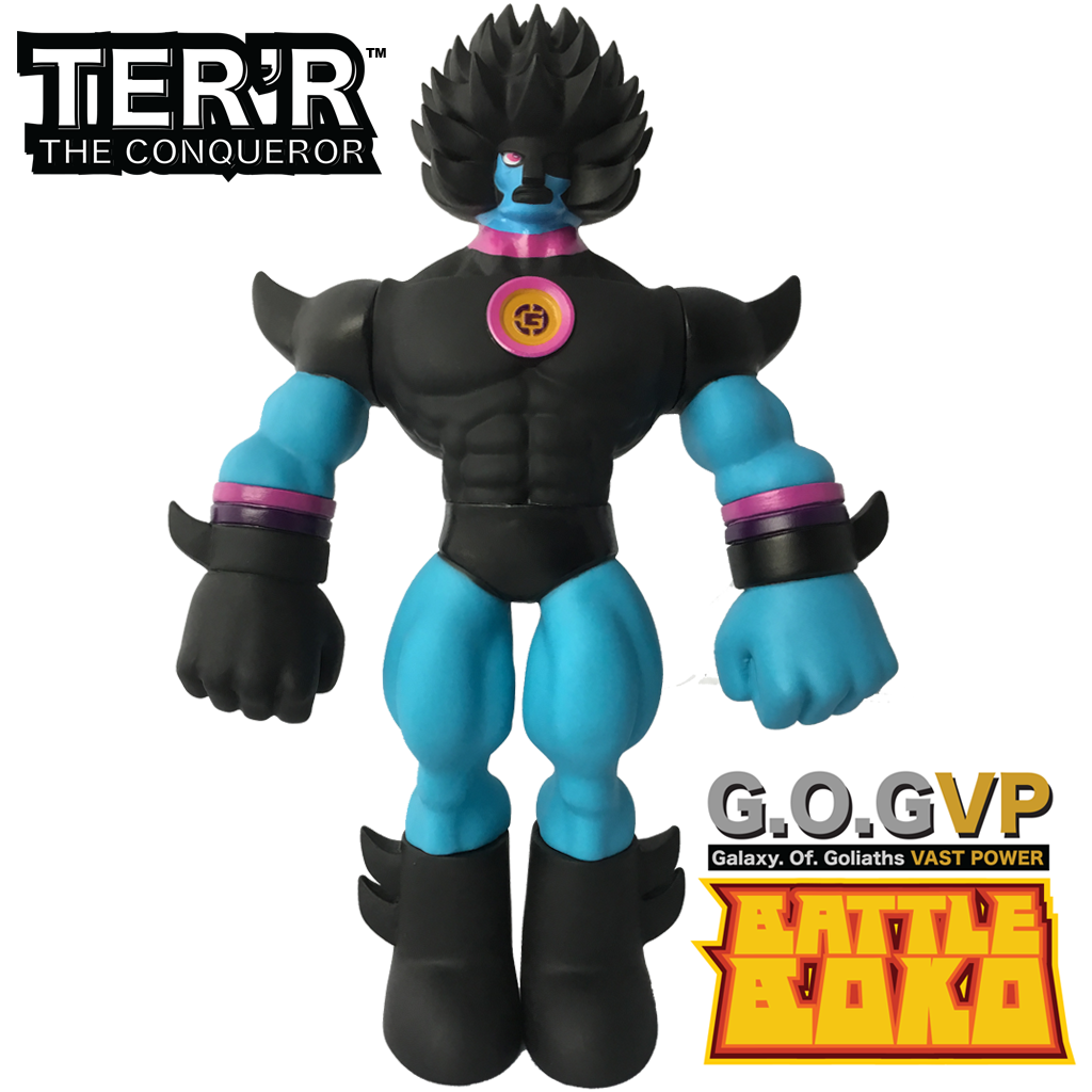 TER'R THE CONQEROR ACTION FIGURE