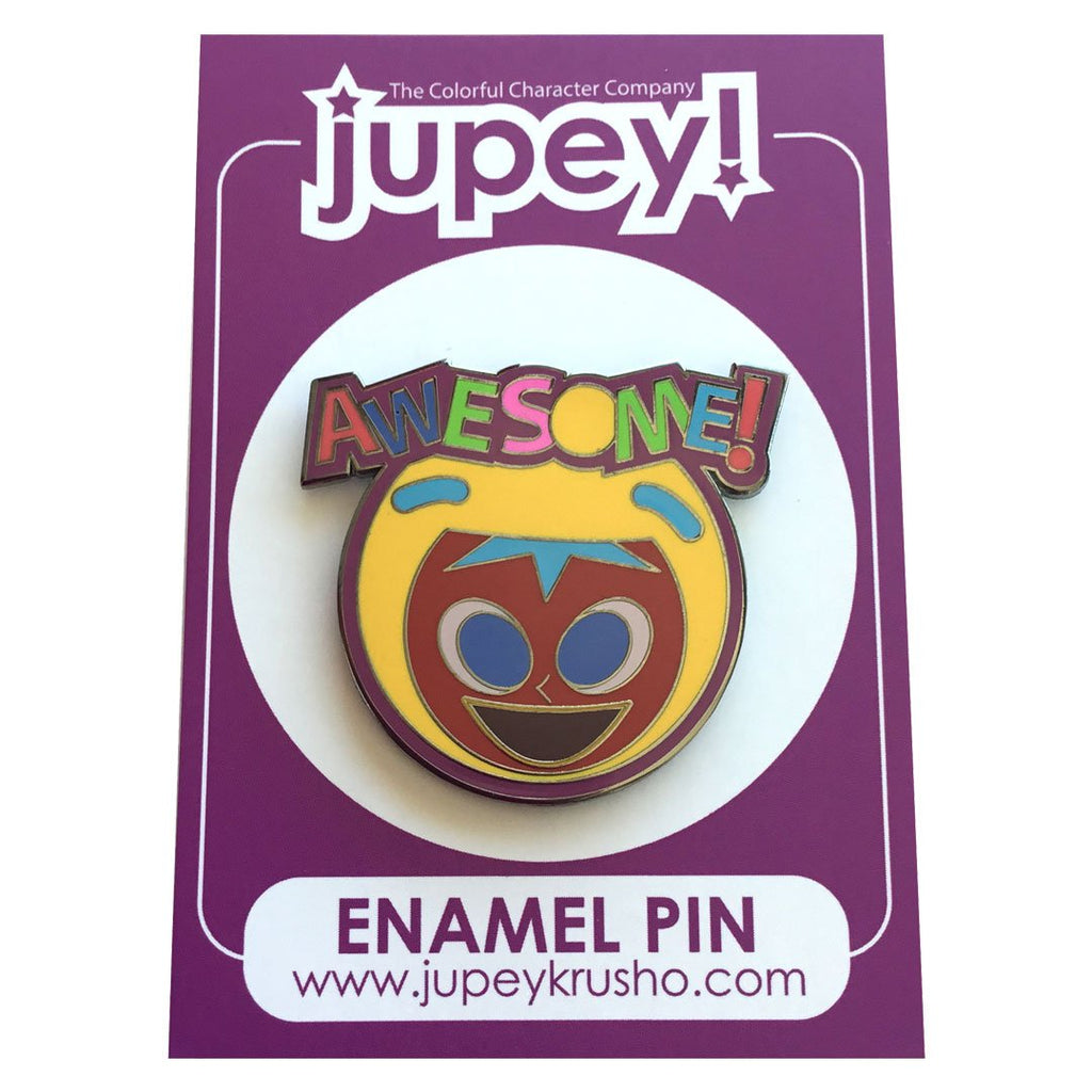 Awesome Enamel Pin