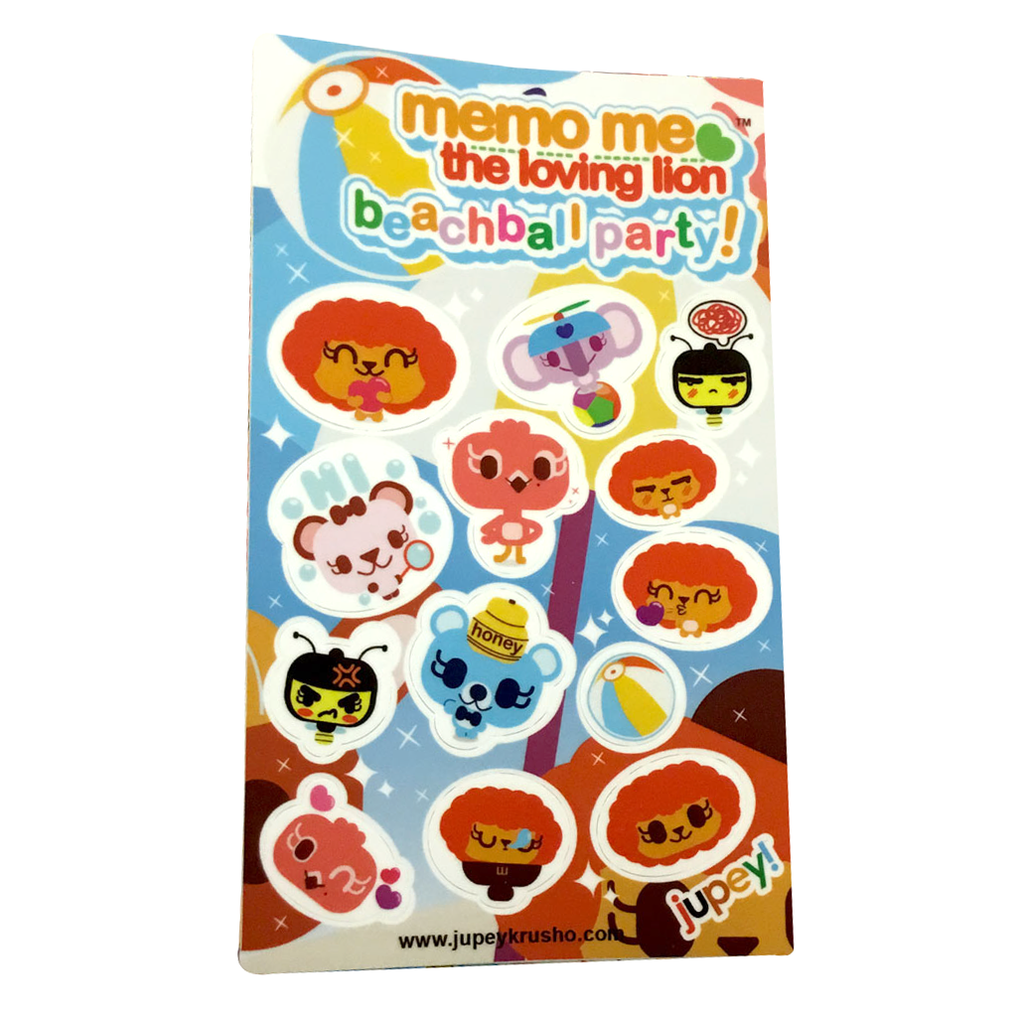 Beachball Party Sticker Sheet