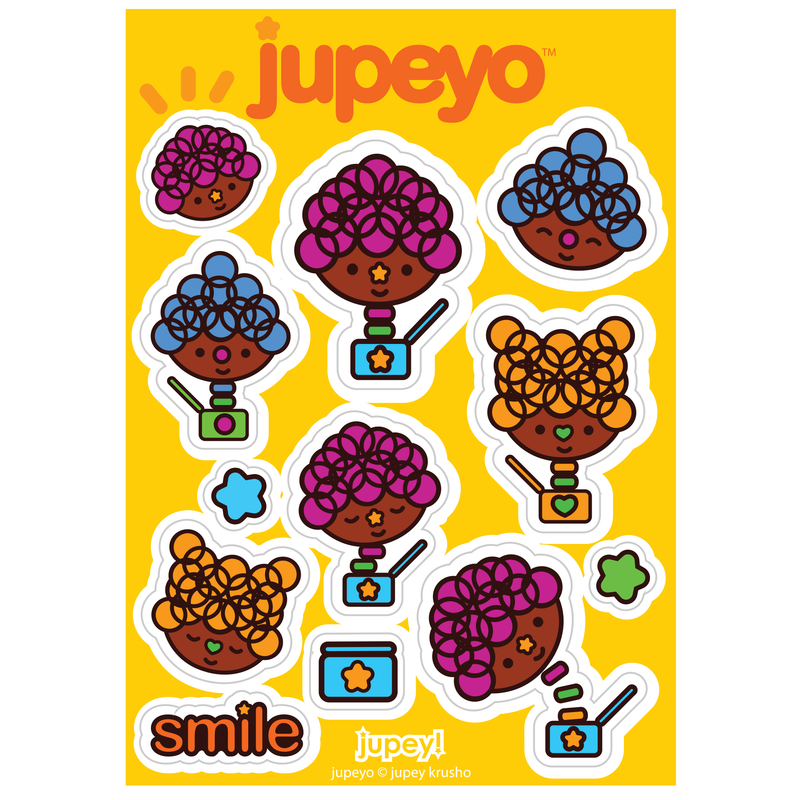 Jupeyo Sticker Sheet