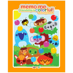 Friendship is Colorful Activity Book