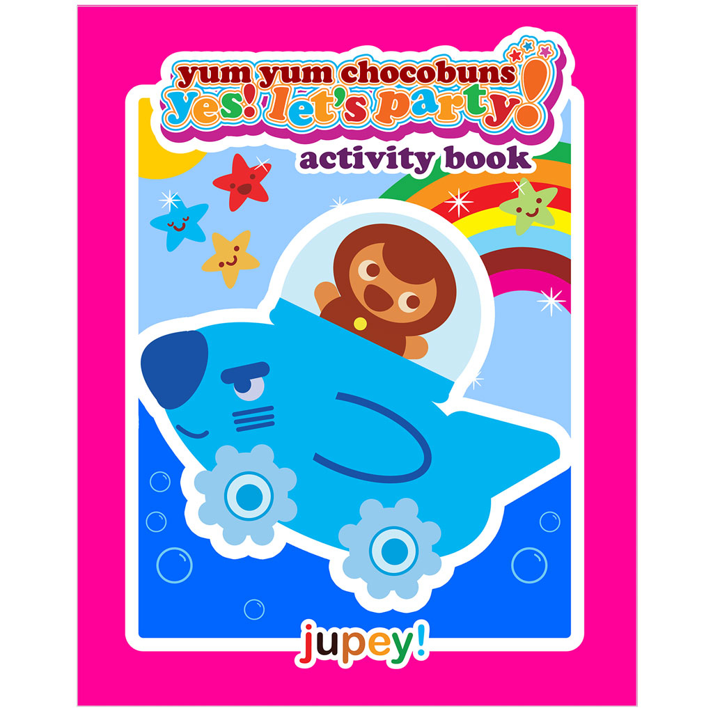 Yes! Let's Party! Activity book